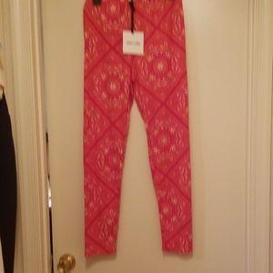 Agnes & Dora Pants - ❤NWT Agnes & Dora Red Bandana print leggings XL